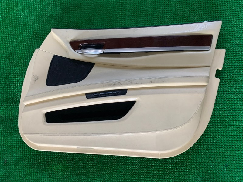 Обшивка двери Bmw 7-Series F01 N63B44 2008 передняя правая (б/у)