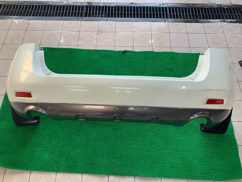 Бампер Nissan Murano Z51 VQ25DE 2007 задний (б/у)