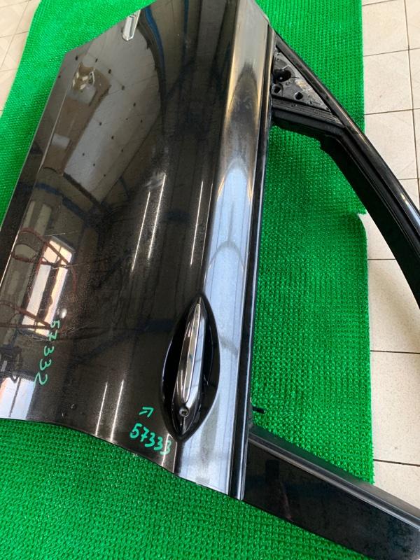 Молдинг стекла Bmw 7-Series F01 N63B44 2008 передний левый (б/у)