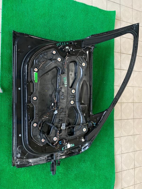 Уплотнитель двери Bmw 7-Series F01 N63B44 2008 передний левый (б/у)
