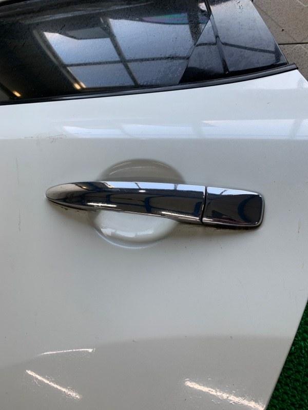Ручка двери Nissan Murano Z51 VQ25DE 2007 задняя левая (б/у)