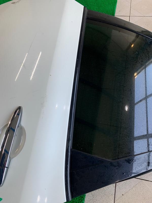 Молдинг стекла Nissan Murano Z51 VQ25DE 2007 задний левый (б/у)