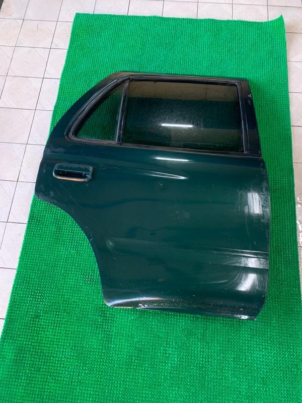 Дверь Toyota Hilux Surf VZN185 5VZFE 1997 задняя правая (б/у)