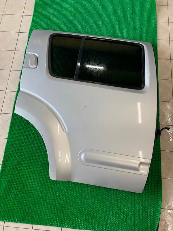 Дверь Nissan Pathfinder R51 VQ40DE 2006 задняя правая (б/у)