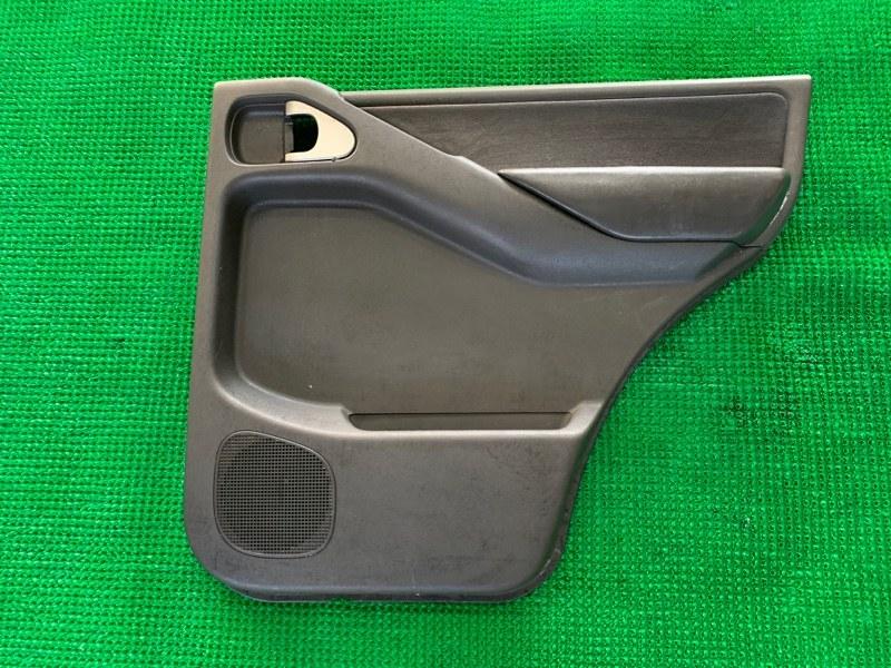 Обшивка двери Nissan Pathfinder R51 VQ40DE 2006 задняя правая (б/у)