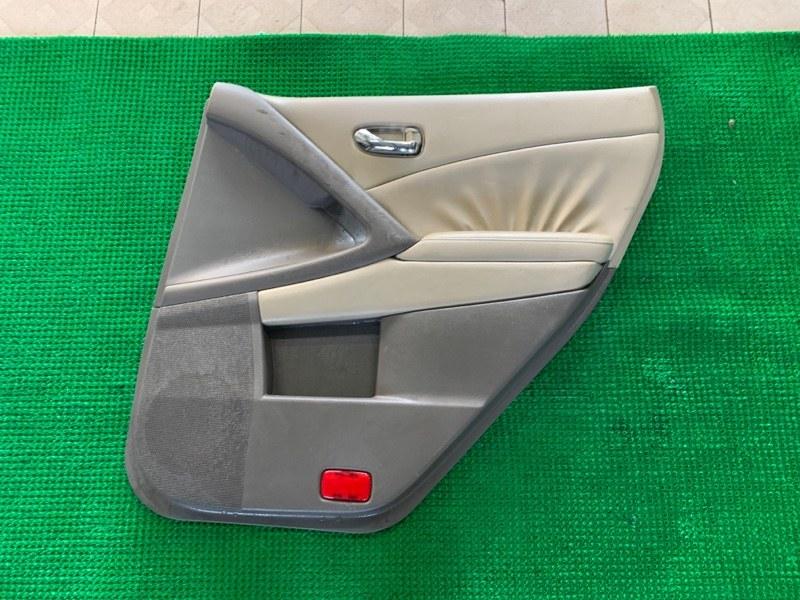 Обшивка двери Nissan Murano Z51 VQ25DE 2007 задняя правая (б/у)