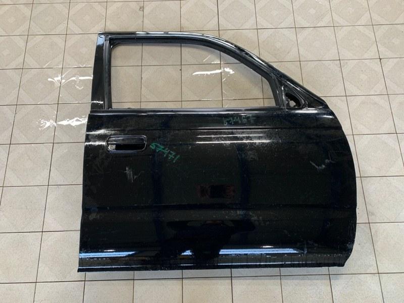 Молдинг стекла Toyota Hilux Surf VZN185 5VZFE 1997 передний правый (б/у)