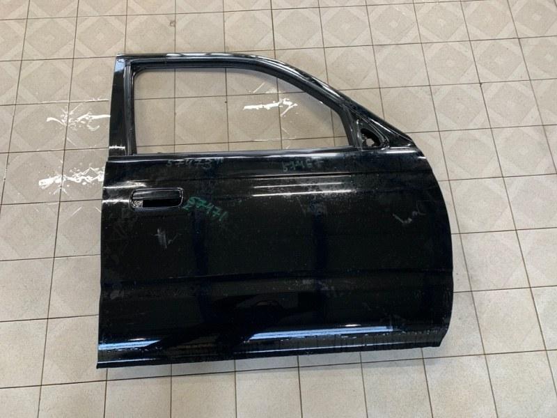 Стекло двери Toyota Hilux Surf VZN185 5VZFE 1997 переднее правое (б/у)