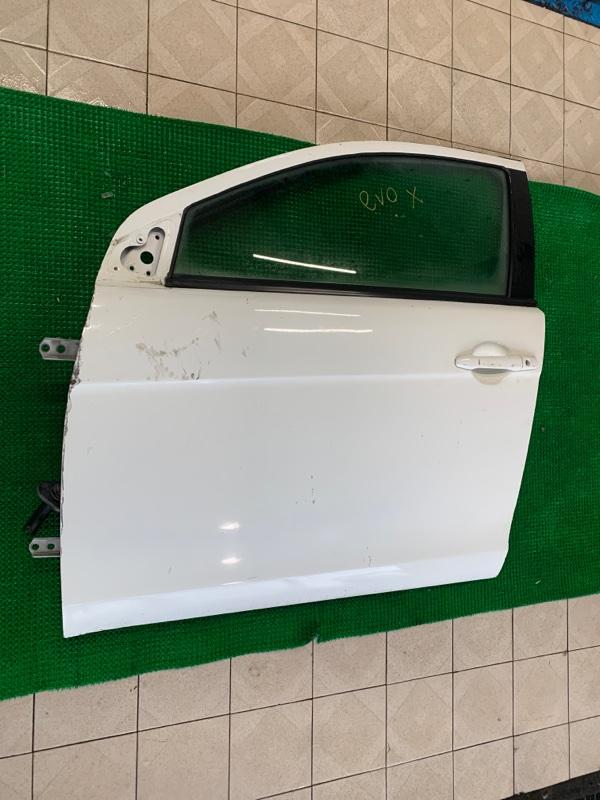 Дверь Mitsubishi Lancer CX3A 4B10 2008 передняя левая (б/у)