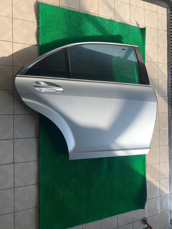 Дверь Mercedes-Benz S-Class W221 M273E55 2007 задняя правая (б/у)