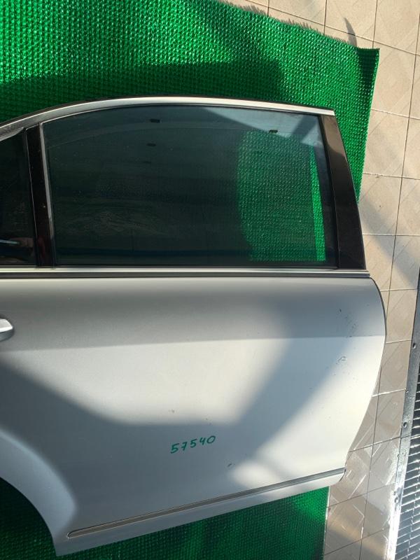 Стекло двери Mercedes-Benz S-Class W221 M273E55 2007 заднее правое (б/у)