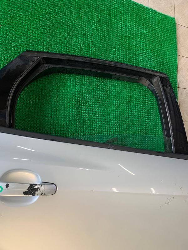 Стекло двери Ford Focus BK XQDA 2011 заднее правое (б/у)