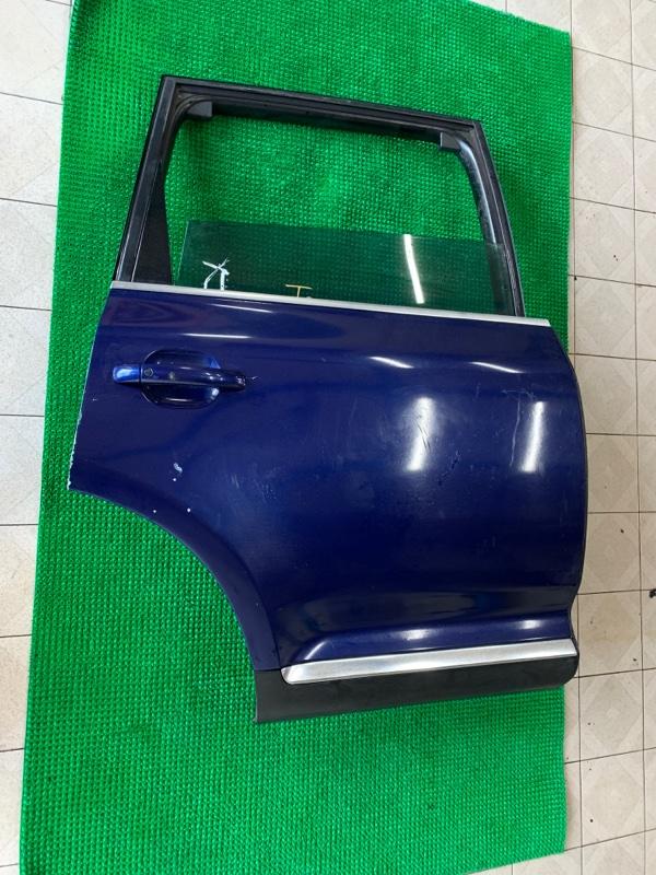 Дверь Volkswagen Touareg 7LA BAR 2002 задняя правая (б/у)