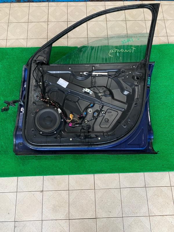 Уплотнитель двери Volkswagen Touareg 7LA BAR 2002 передний правый (б/у)