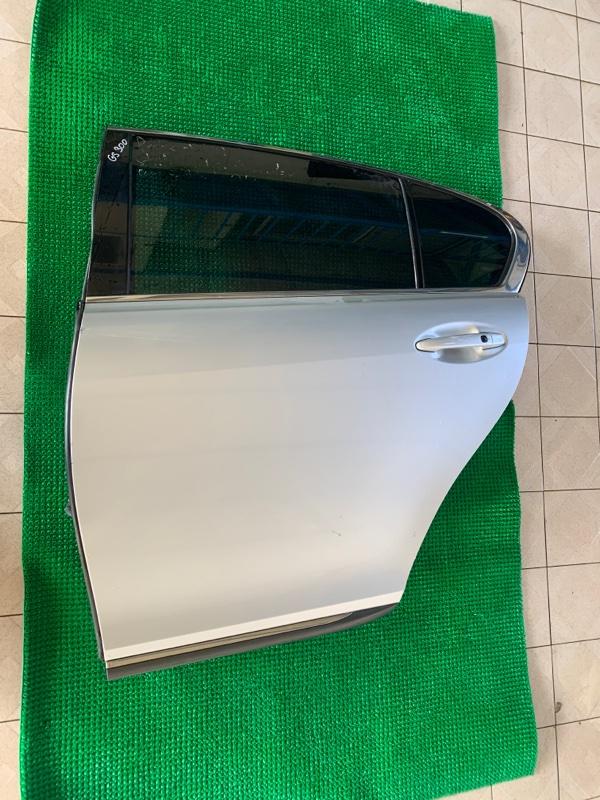Дверь Lexus Gs GRS190 3GRFSE 2007 задняя левая (б/у)