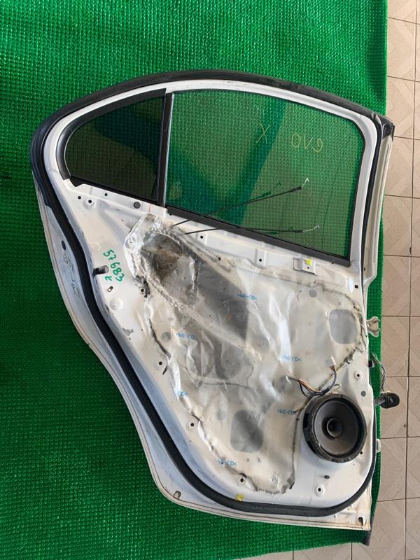 Стеклоподъемник Mitsubishi Lancer CX3A 4B10 2008 задний левый (б/у)