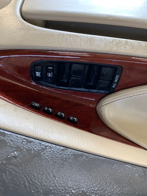 Блок управления стеклоподъемниками Lexus Gs GRS190 3GRFSE 2007 передний левый (б/у)