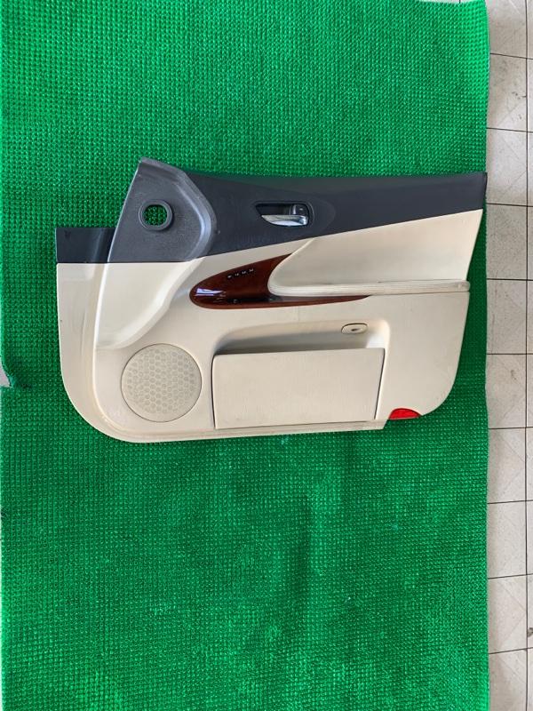 Обшивка двери Lexus Gs GRS190 3GRFSE 2007 передняя правая (б/у)