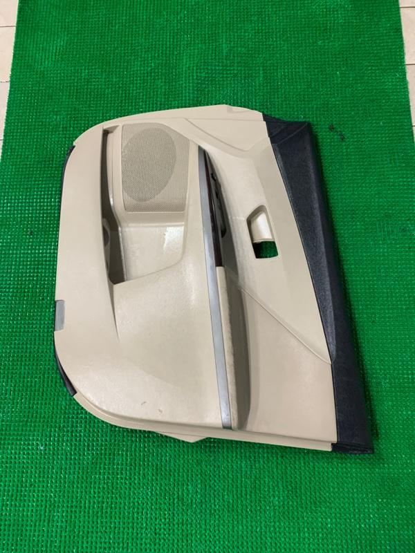 Обшивка двери Toyota Venza GGV15 2GRFE 2008 передняя правая (б/у)