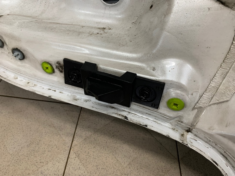 Отбойник двери багажника Lexus Nx AGZ15 8ARFTS 2014 задний правый (б/у)