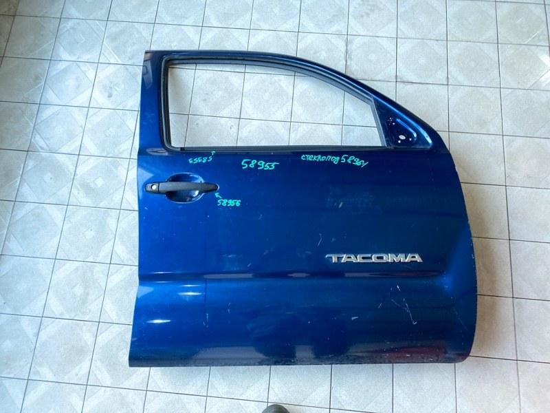 Стекло двери Toyota Tacoma GRN245 1GRFE 2005 переднее левое (б/у)