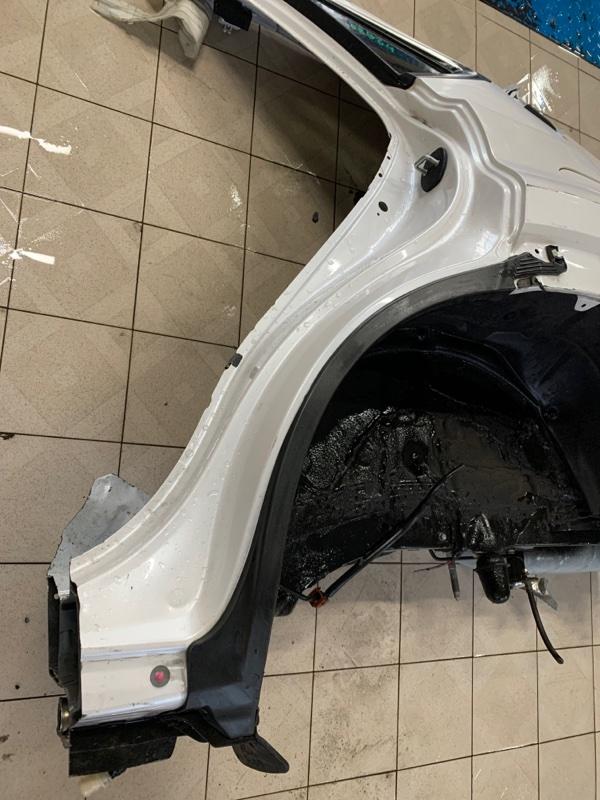 Накладка на крыло Lexus Nx AGZ15 8ARFTS 2014 задняя левая (б/у)