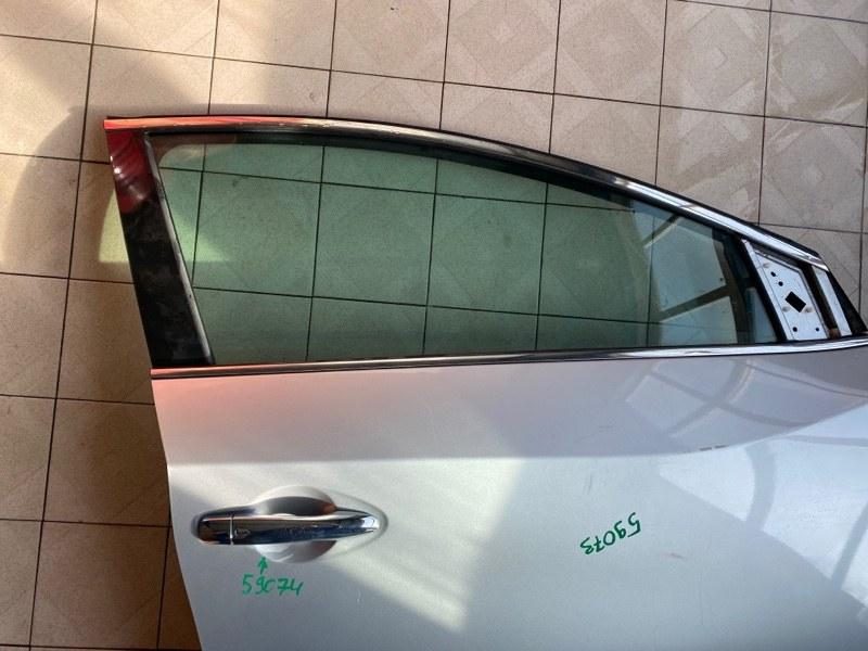 Стекло двери Nissan Murano Z52 QR25DER 2016 переднее правое (б/у)