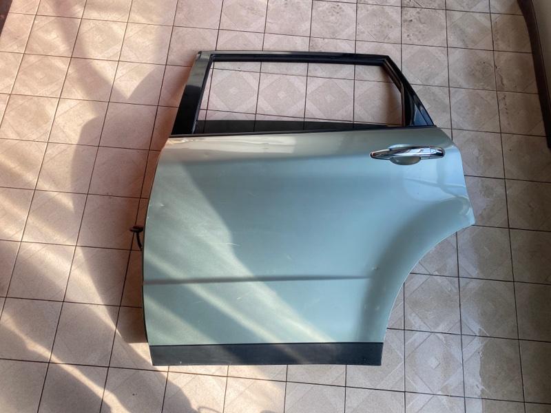 Дверь Subaru B9 Tribeca WXE EZ30 2004 задняя левая (б/у)