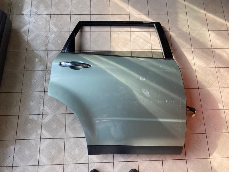 Дверь Subaru B9 Tribeca WXE EZ30 2004 задняя правая (б/у)