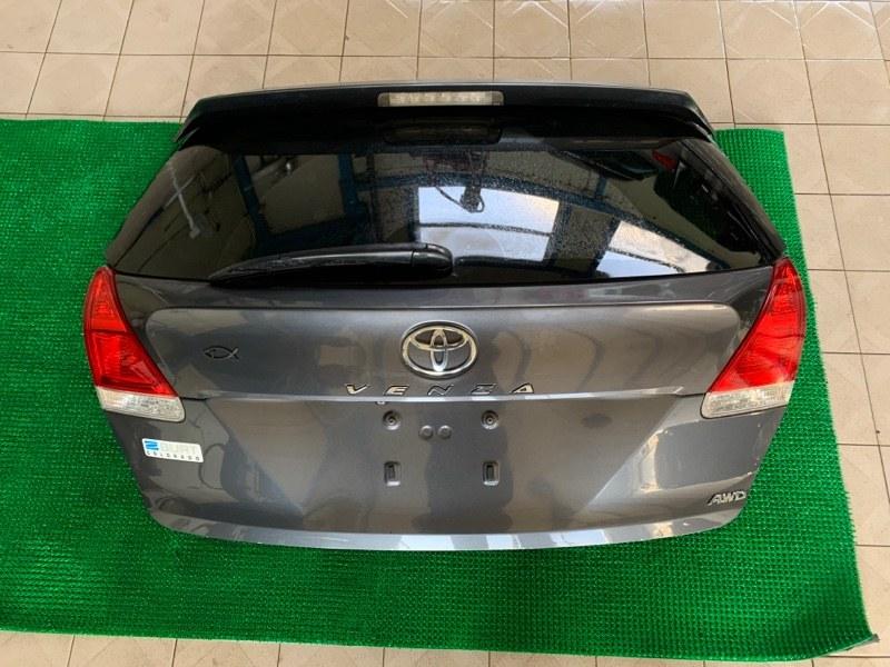 Дверь багажника Toyota Venza GGV15 2GRFE 2010 (б/у)