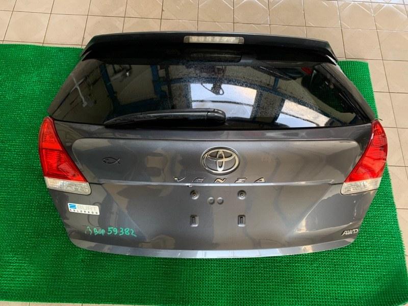 Стекло двери багажника Toyota Venza GGV15 2GRFE 2010 (б/у)