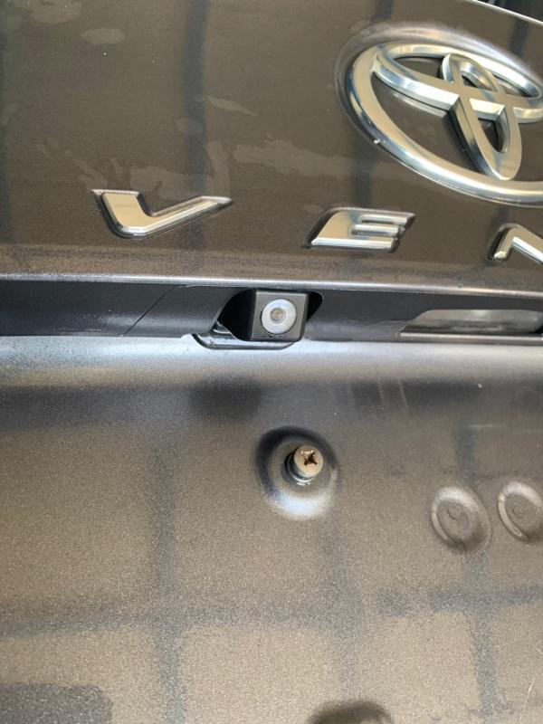 Камера заднего вида Toyota Venza GGV15 2GRFE 2010 (б/у)