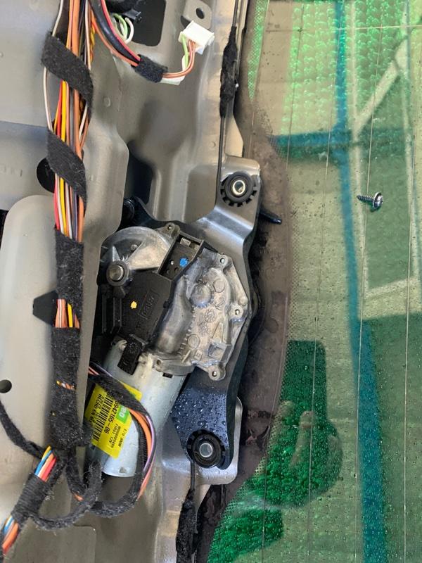 Моторчик заднего дворника Bmw X5 E70 N62B48 2007 (б/у)