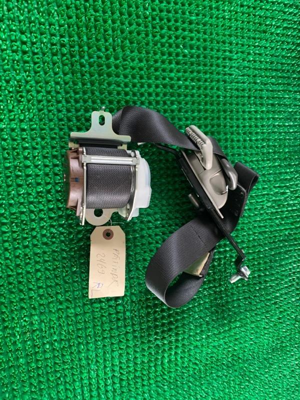 Ремень безопасности Nissan Pathfinder R51 VQ40DE Pathfinder задний левый (б/у)