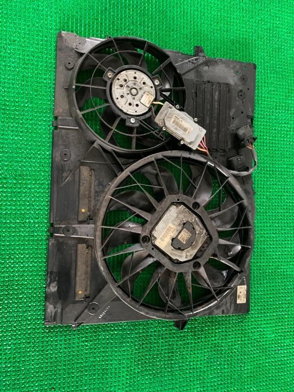 Вентилятор охлаждения радиатора Audi Q7 4LB BAR 2006 (б/у)