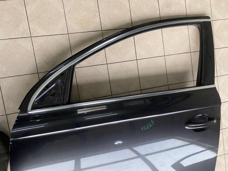 Молдинг стекла Audi Q7 4LB BAR 2006 передний левый (б/у)