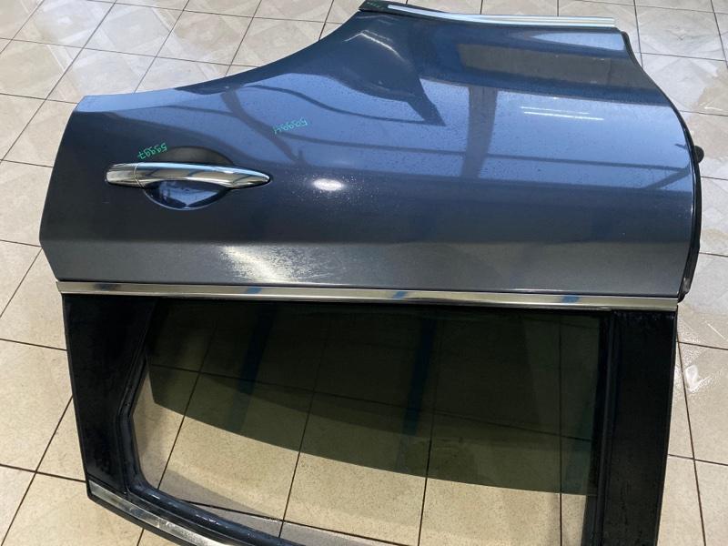 Молдинг стекла двери Infiniti Fx35 S51 VQ35HR 2008 задний левый (б/у)