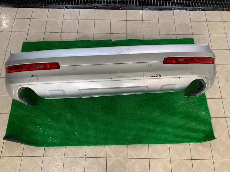 Бампер Audi Q7 4LB BAR 2006 задний (б/у)