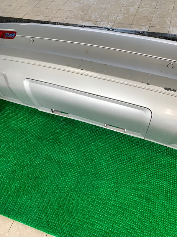 Накладка бампера Audi Q7 4LB BAR 2006 задняя (б/у)