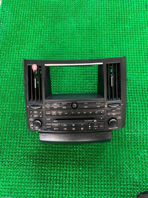 Блок управления климат контролем Infiniti Fx35 S50 VQ35DE 2003 (б/у)