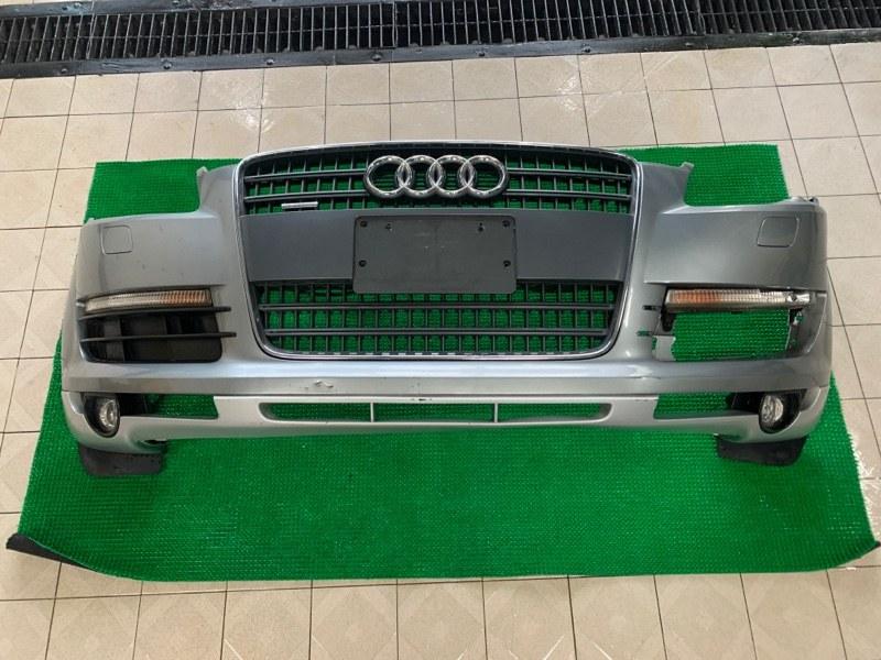 Бампер Audi Q7 4LB BAR 2006 передний (б/у)