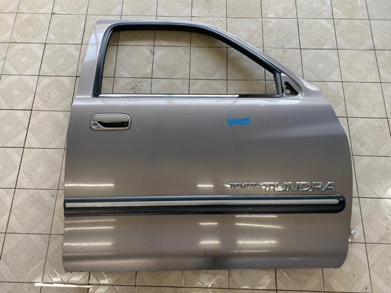 Стекло двери Toyota Tundra UCK35 2UZFE 2002 переднее правое (б/у)