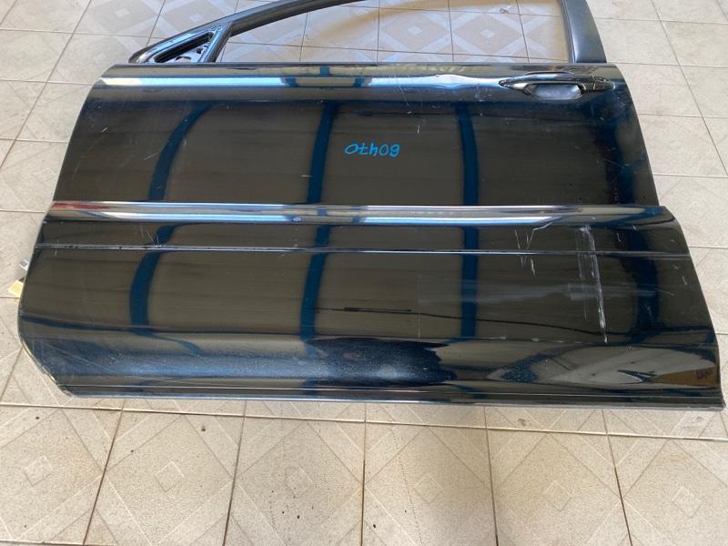 Накладка двери Lexus Gx470 UZJ120 2UZFE 2003 передняя левая (б/у)