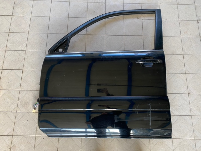 Стекло двери Lexus Gx470 UZJ120 2UZFE 2003 переднее левое (б/у)