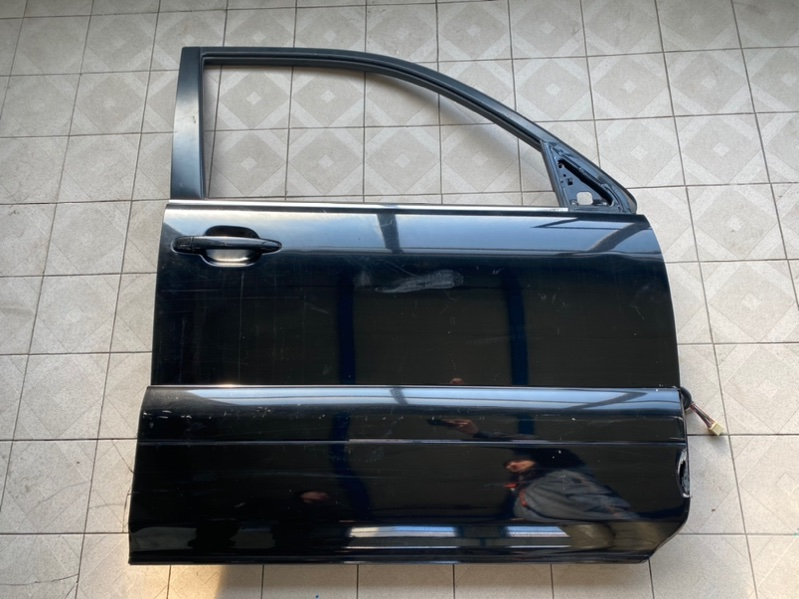 Накладка двери Lexus Gx470 UZJ120 2UZFE 2003 передняя правая (б/у)