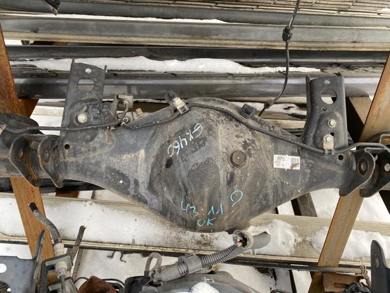 Чулок моста Lexus Gx460 URJ150 1URFE 2009 задний (б/у)