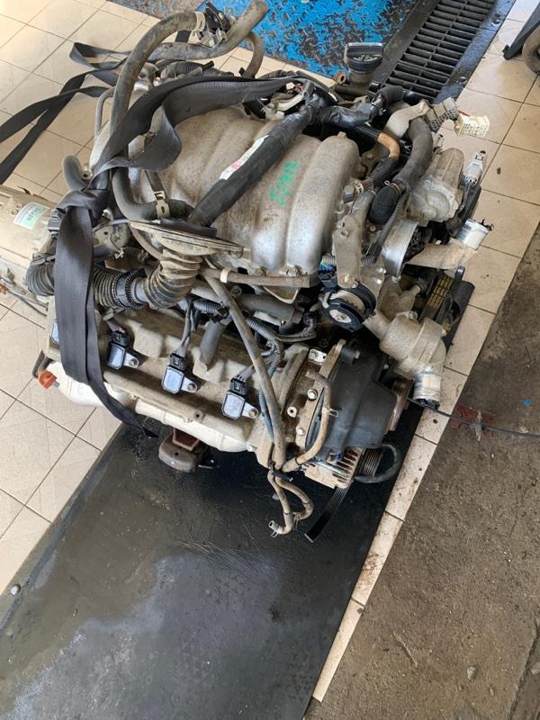 Двигатель Toyota Land Cruiser UZJ100 2UZFE 1998 (б/у)