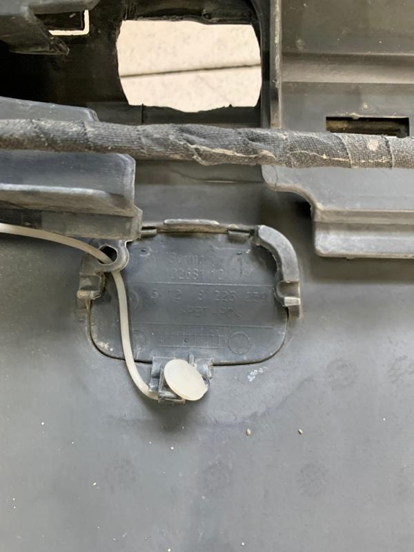 Заглушка бампера Bmw 7-Series E65 N62B48 2006 задняя (б/у)