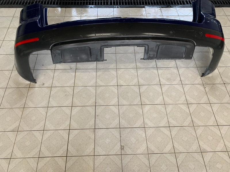 Юбка бампера Volkswagen Touareg 7LA AXQ 2003 задняя (б/у)