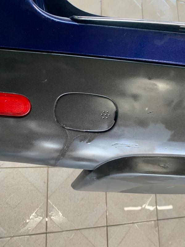 Заглушка в бампер Volkswagen Touareg 7LA AXQ 2003 задняя левая (б/у)